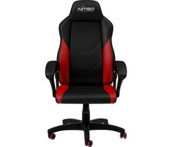 C100 Gaming Chair - Black & Red