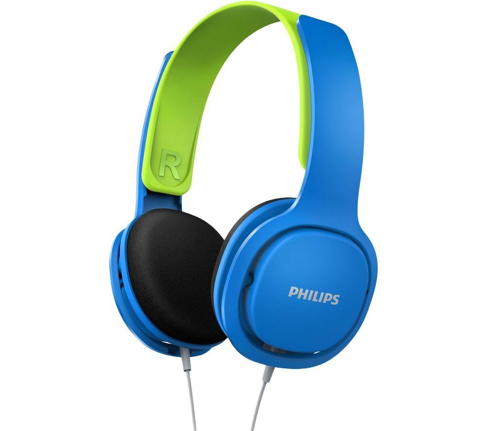 PHILIPS SHK2000BL/00 Kids Headphones - Blue