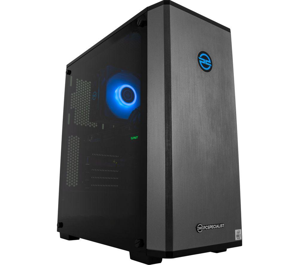 PC SPECIALIST Vortex ST-S Gaming PC - Intel® Core™ i7, RTX 2070 Super, 2 TB HDD & 512 GB SSD