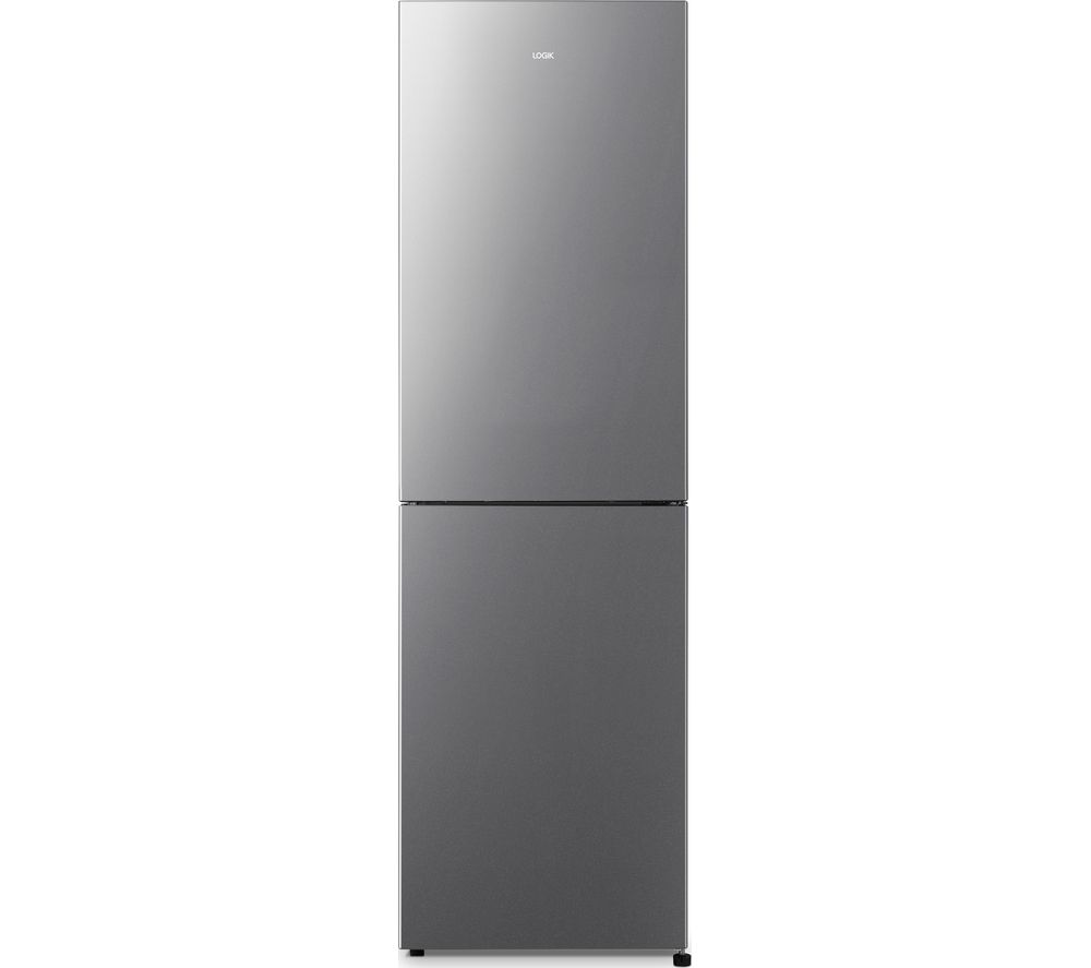 LOGIK LNF55X20 50/50 Fridge Freezer - Inox