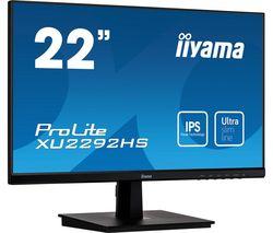 ProLite XU2292HS-B1 22' Full HD LCD IPS Monitor - Black