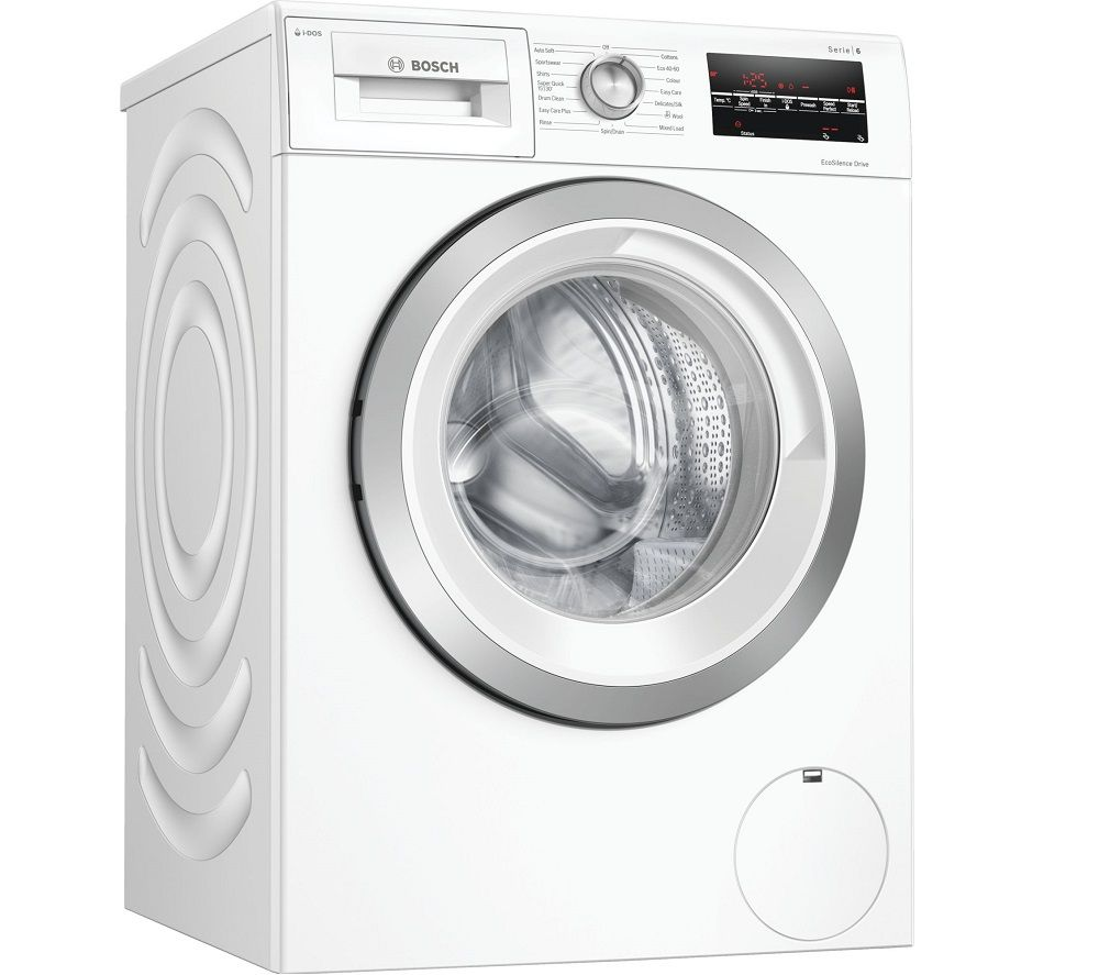 Image of BOSCH Serie 6 i-DOS WAU28S80GB 8 kg 1400 Spin Washing Machine - White, White