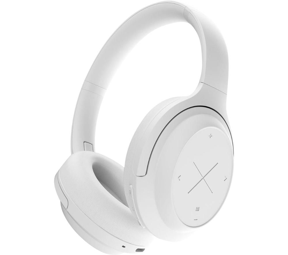 Image of KYGO A11/800 Wireless Bluetooth Noise-Cancelling Headphones - White, White