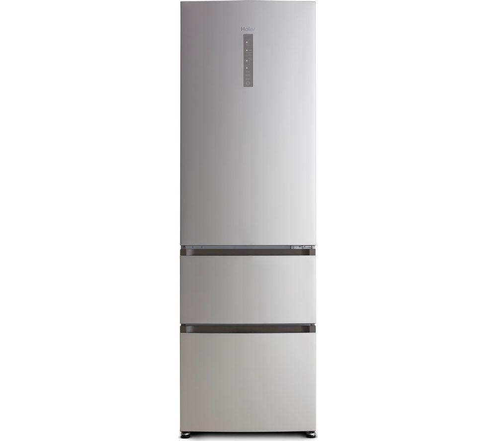 HAIER HTR5619FNMI 70/30 Fridge Freezer - Inox