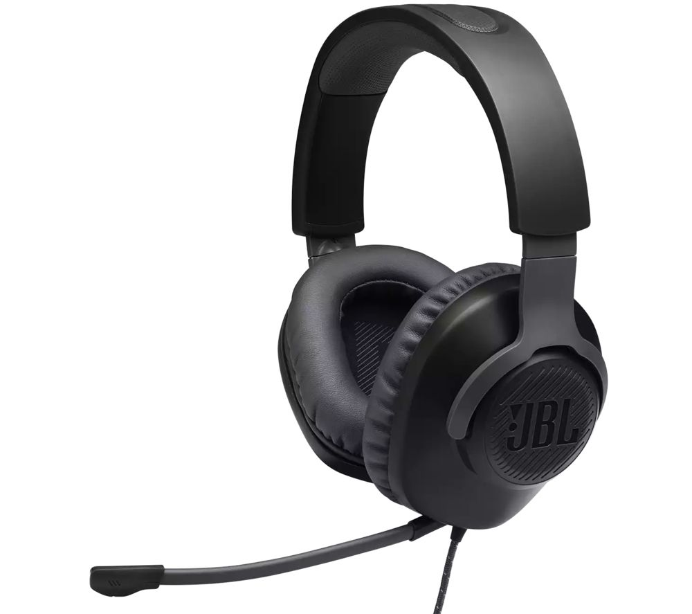 JBL Quantum 100 Gaming Headset - Black