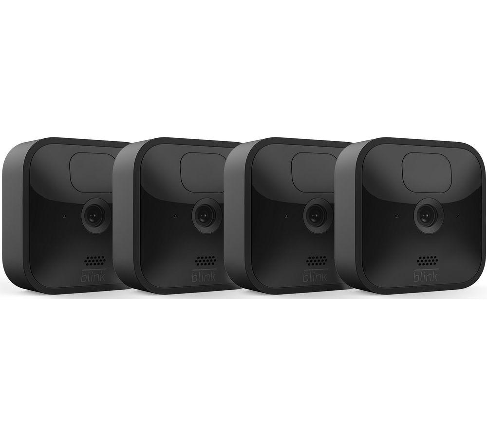 AMAZON Blink Outdoor HD 1080p WiFi Security Camera System - 4 Cameras