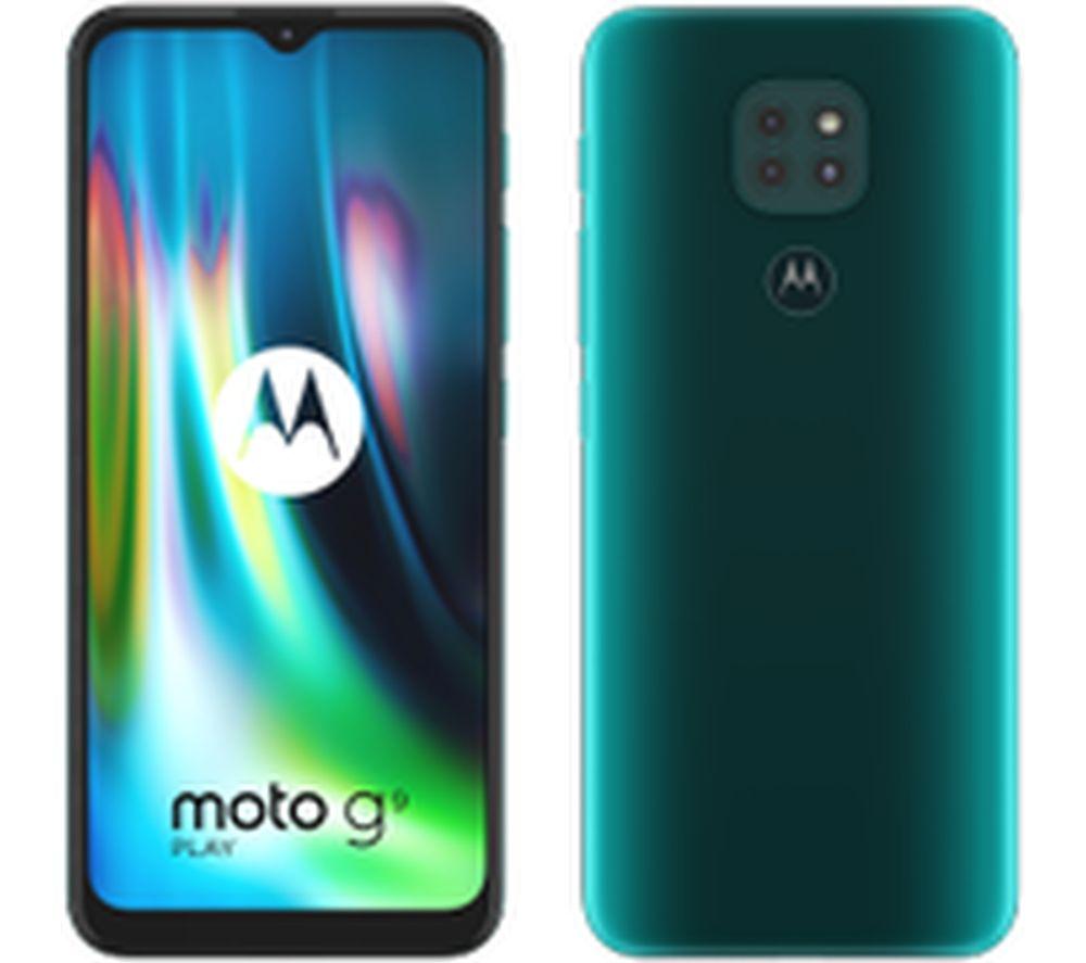 MOTOROLA Moto G9 Play - 64 GB, Forest Green