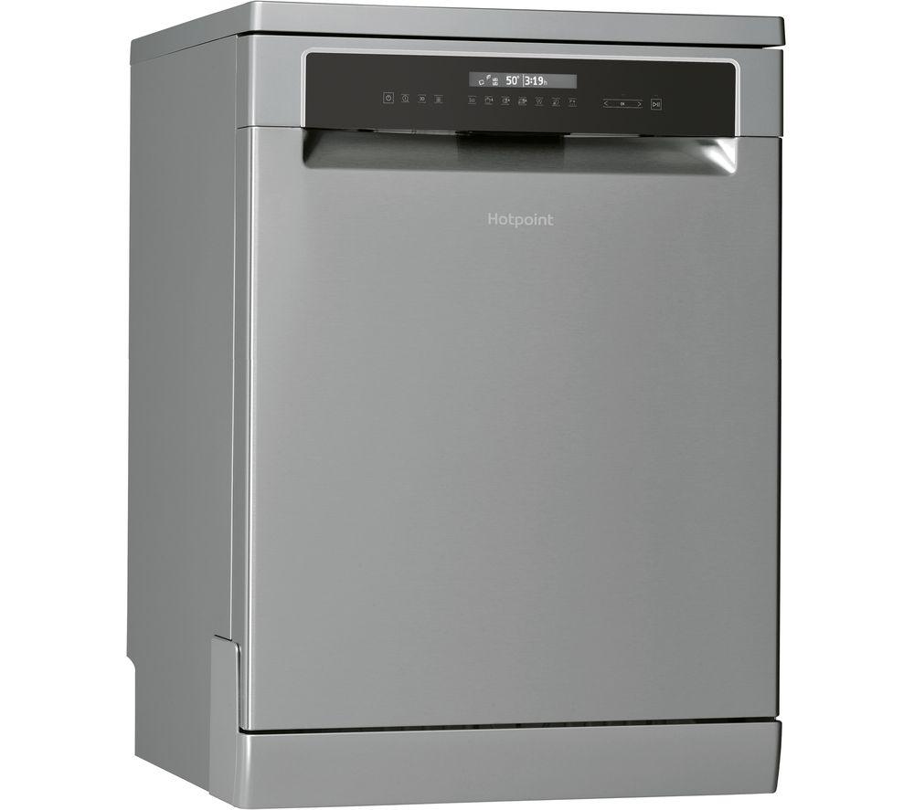 HOTPOINT HFP 5O41 WLG X UK Full-size Dishwasher - Stainless Steel