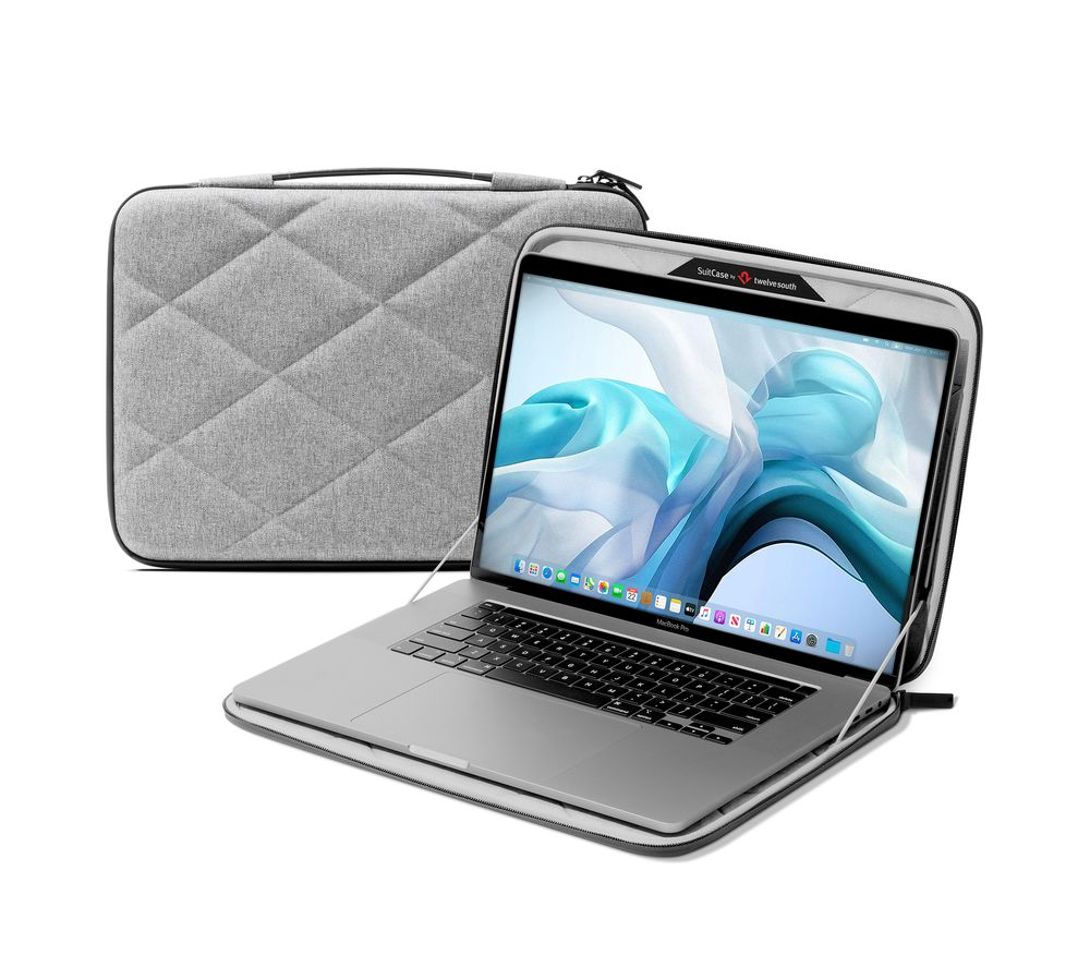 "TWELVE SOUTH SuitCase 12-2017 13"" MacBook Pro & MacBook Air Case - Grey, Grey"
