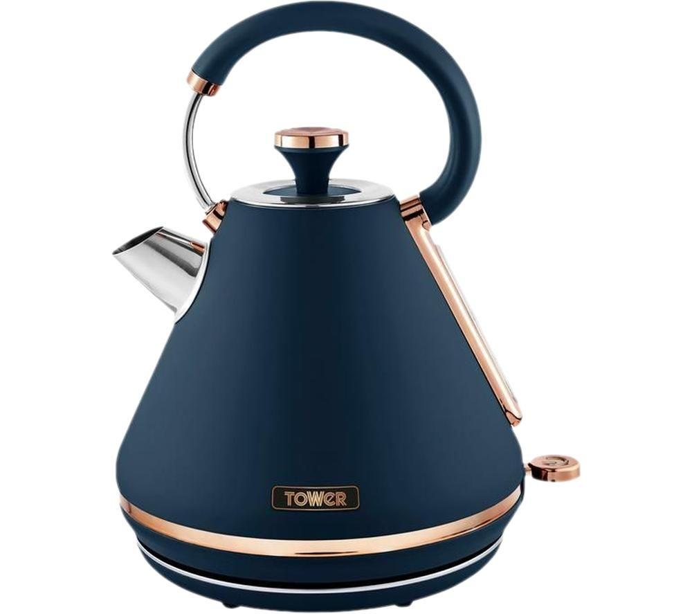 TOWER Cavaletto T10044MNB Traditional Kettle - Midnight Blue