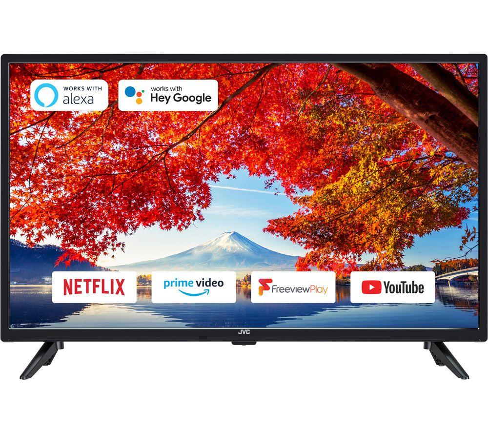 """32"""" JVC LT-32C3210 Smart HD Ready HDR LED TV"""