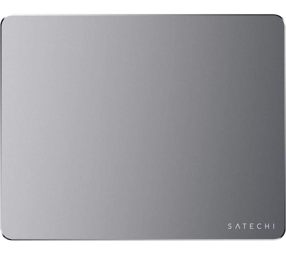Image of SATECHI Aluminium ST-AMPADM Mouse Mat - Space Grey, Grey