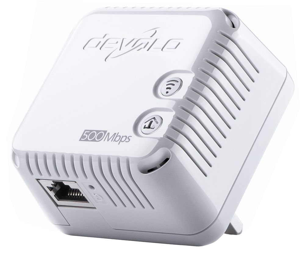 Cheapest price of Devolo dLAN 500 Wireless Powerline Adapter Add-on in new is £34.99