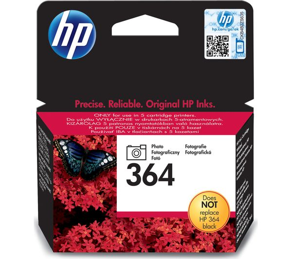 HP 364 Black Photo Ink Cartridge