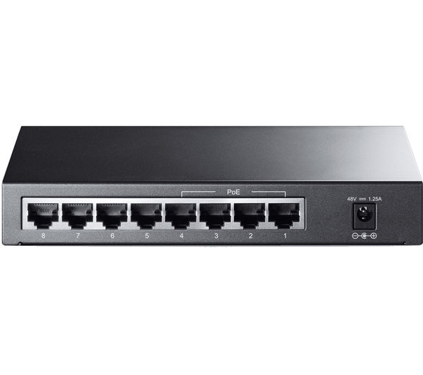 TP-LINK TL-SF1008P Network Switch - 8 port
