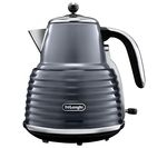 DELONGHI Scultura KBZ3001GY Jug Kettle - Grey
