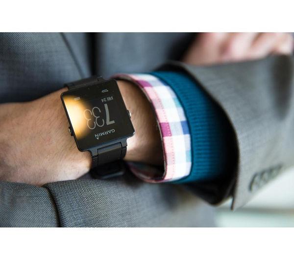 010-01297-00 - GARMIN vivoactive GPS Smartwatch - Black