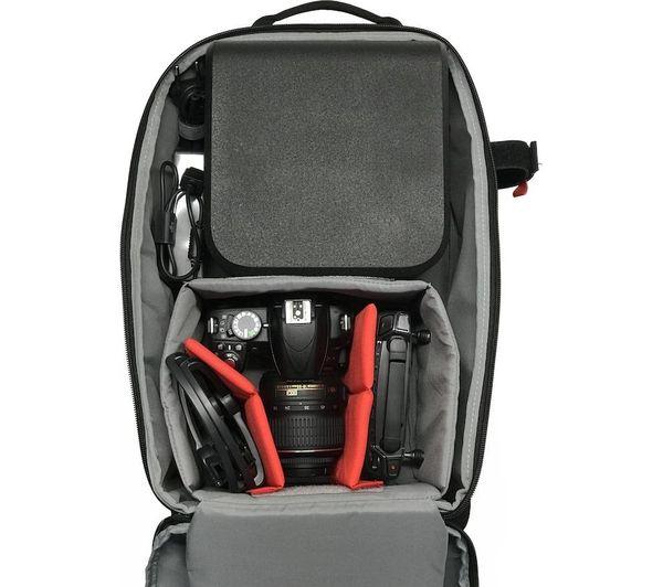 MANFROTTO MB BP-E Essential DSLR Camera Backpack - Black Deals  10856dc092e9f