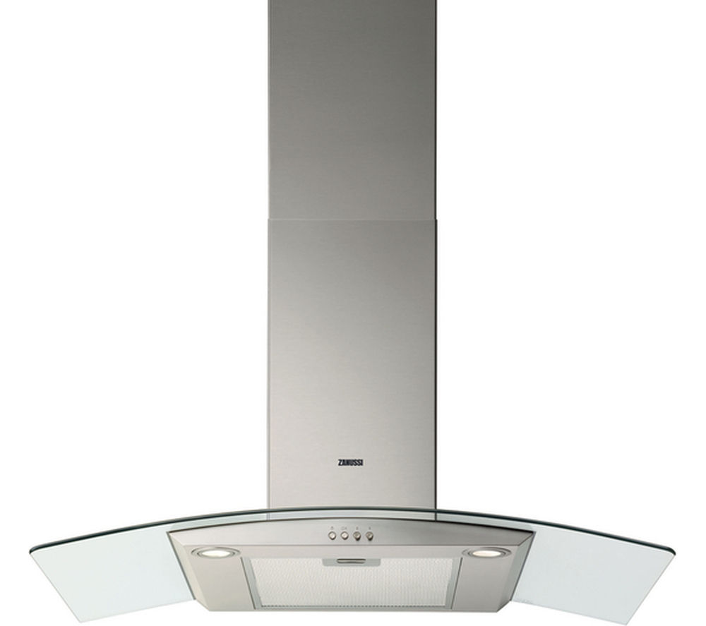 ZANUSSI ZHC9234X Chimney Cooker Hood - Stainless Steel