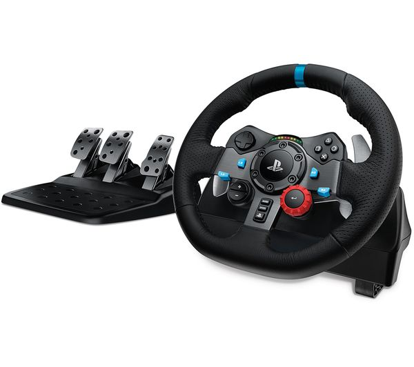 Image of LOGITECH Driving Force G29 PlayStation & PC Racing Wheel & Pedals