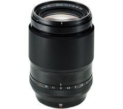 FUJIFILM Fujinon XF 90 mm f/2 R LM WR Telephoto Prime Lens