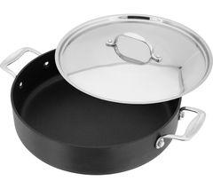 STELLAR 6000 28 cm Non-stick Saute Pan - Grey