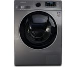 SAMSUNG AddWash WW90K5410UX/EU Washing Machine - Graphite