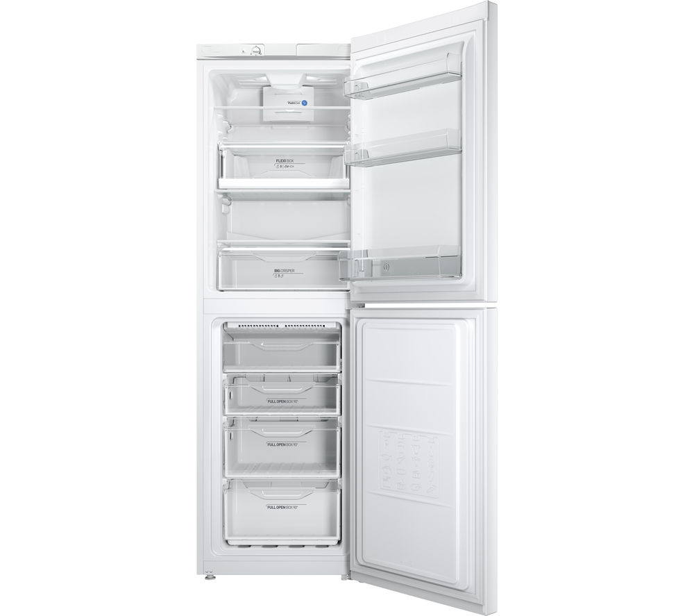 Buy Indesit Ld85f1w 50 50 Fridge Freezer White Free