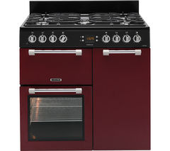 Cookmaster CK90F232R Dual Fuel Range Cooker - Red