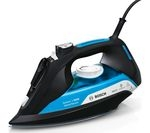BOSCH Sensixx'x DA50 SensorSecure TDA5080GB Steam Iron - Black & Ice Blue