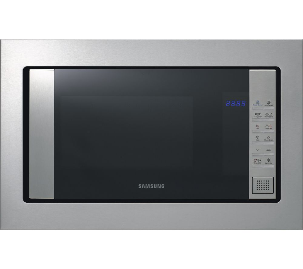 Compare prices for Samsung FG87SUST Builtin Microwave with Grill Stainless Steel