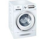 SIEMENS WD15H520GB Washer Dryer - White