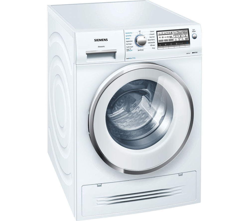 SIEMENS WD15H520GB Washer Dryer - White