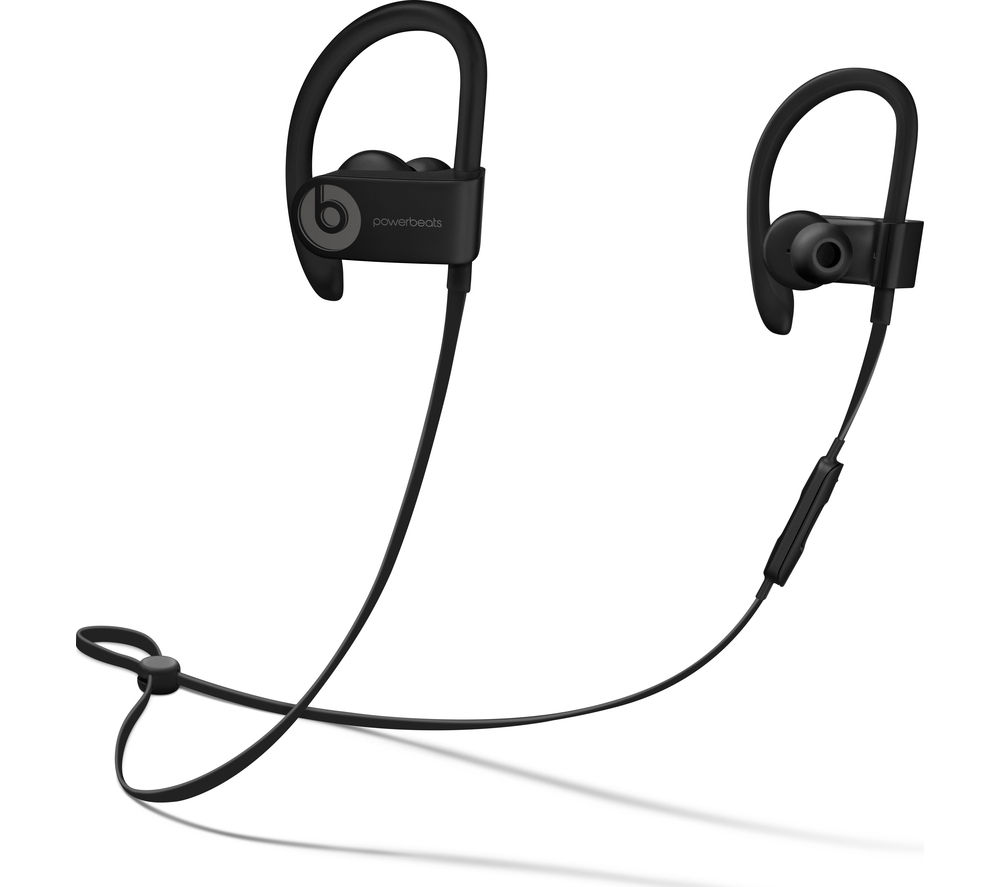 4944e8f3137 Buy BEATS Powerbeats3 Wireless Bluetooth Headphones - Black | Free ...