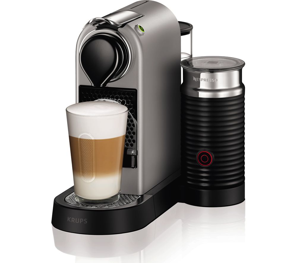 Compare retail prices of Nespresso by Krups Citiz and Milk XN760B40 Coffee Machine to get the best deal online