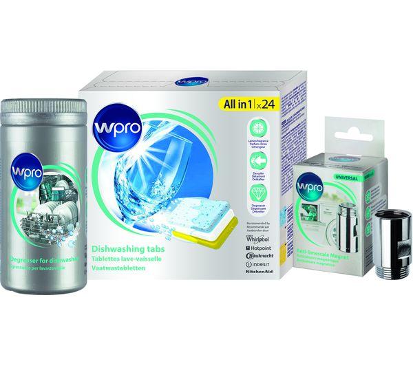 Image of WPRO KDU100 Dishwasher Care Kit