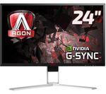 """AOC Agon AG241QG WQHD 24"""" LED Gaming Monitor"""