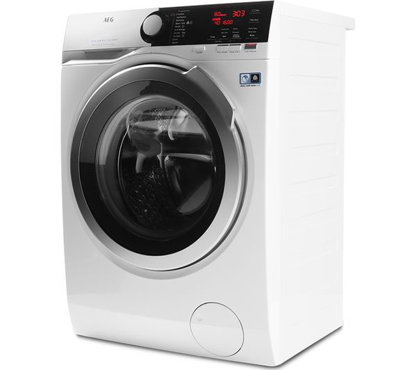 Buy Aeg Prosteam L7fee865r Washing Machine White Free Delivery