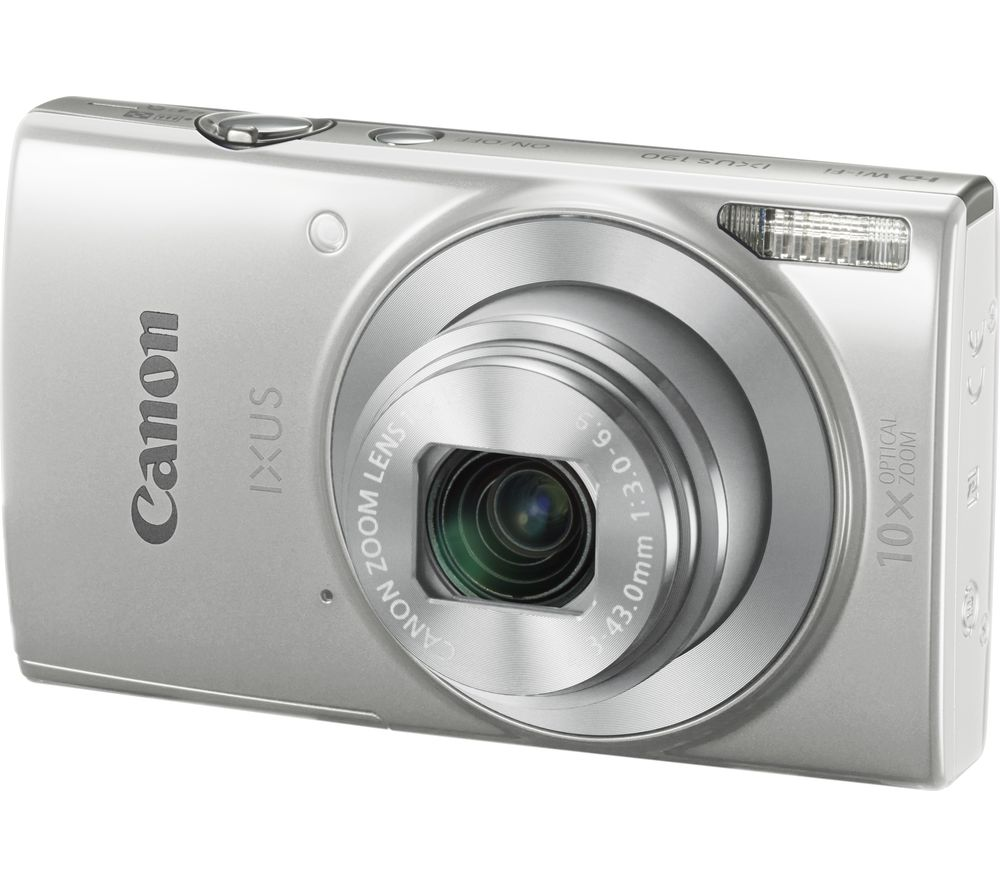 Buy CANON IXUS 190 Compact Camera - Silver | Free Delivery | Currys