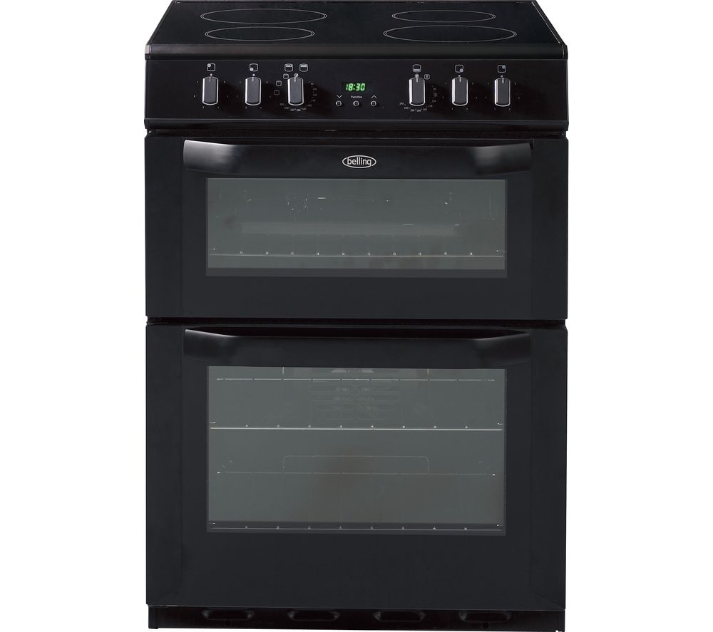 BELLING FSE60DOP 60 cm Electric Ceramic Cooker - Black
