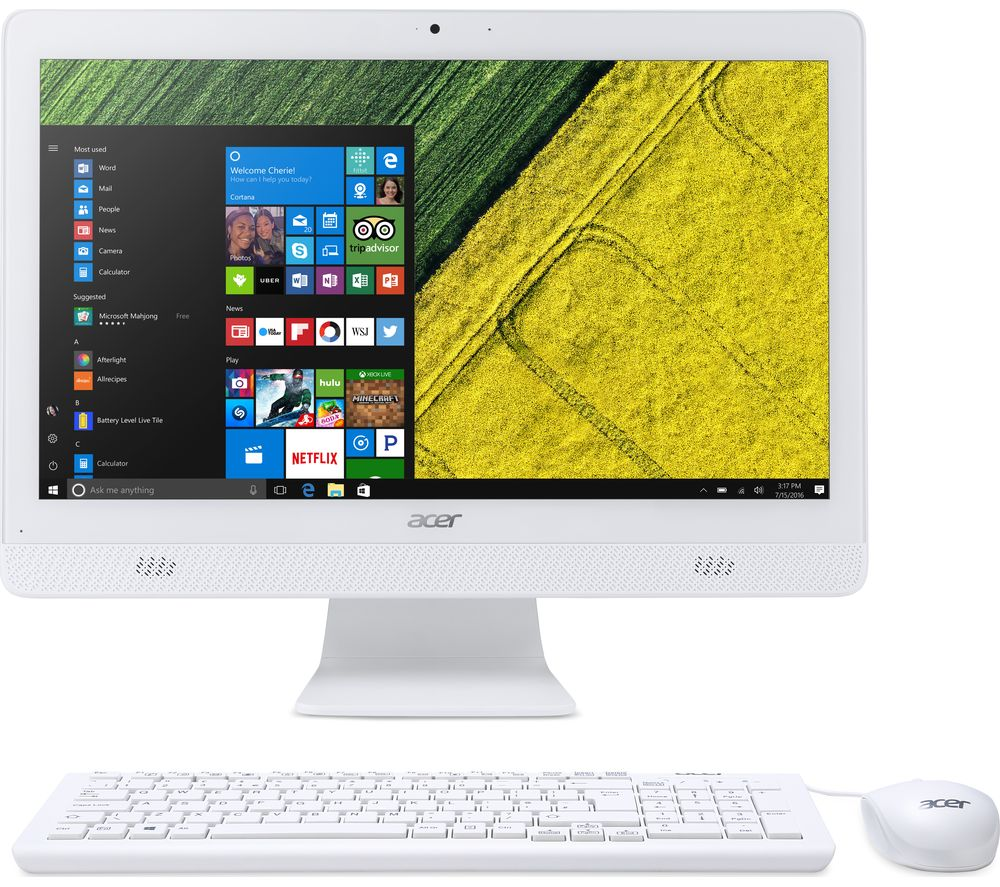 "ACER C20-720 19.5"" All-in-One PC - White"