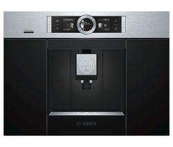 BOSCH CTL636ES6 Built-In Bean to Cup Smart Coffee Machine - Stainless Steel Best Price, Cheapest Prices