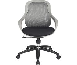 ALPHASON Croft Mesh Tilting Operator Chair - Grey