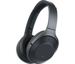 SONY WH-1000XM2B.CE7 Wireless Bluetooth Noise-Cancelling Headphones - Black
