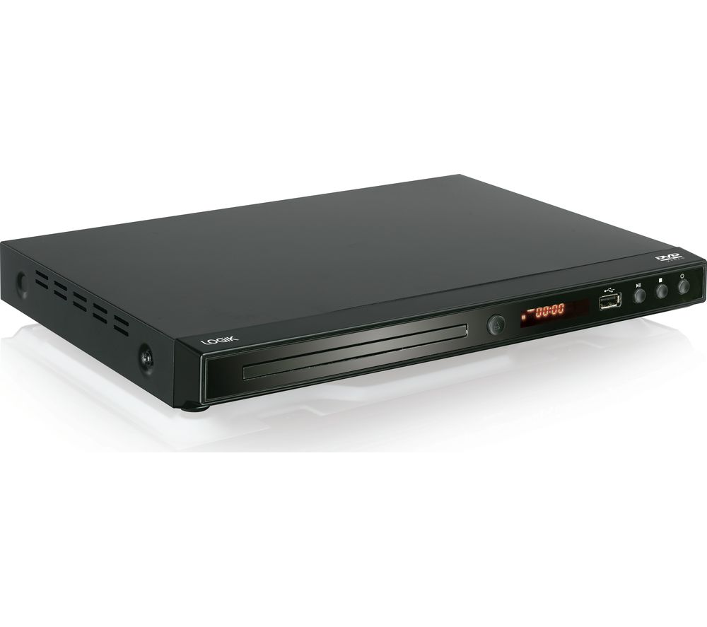 LOGIK L2HDVD17 DVD Player, Silver