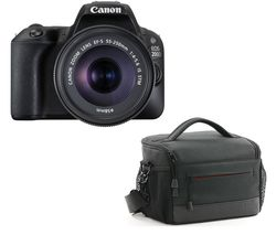 CANON EOS 200D DSLR Camera with EF-S 18-55 mm f/3.5-5.6 DC Lens - Black