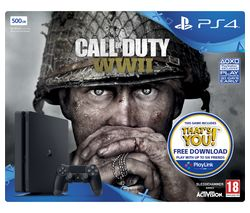 SONY PlayStation 4 Slim & Call of Duty WWII