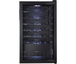 LOGIK LWC34B18 Wine Cooler - Black