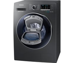 SAMSUNG AddWash WD80K5B10OX 8 kg Washer Dryer - Graphite