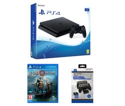 SONY PlayStation 4 1 TB, God Of War & Twin Docking Station Bundle